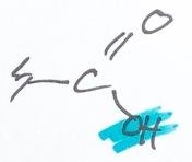 Fettsyrors karboxylände Alfa