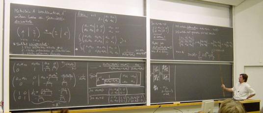 Matematik svart tavla