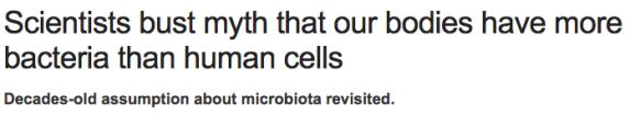 Nature - bakterier i kroppen