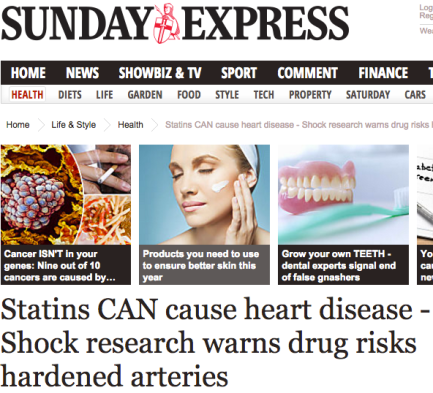 Sunday Express - statiner