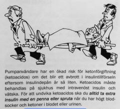 Hanås - pump och risk för ketoacidos