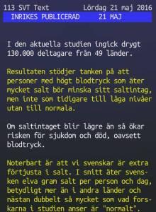 TextTv - Salt1